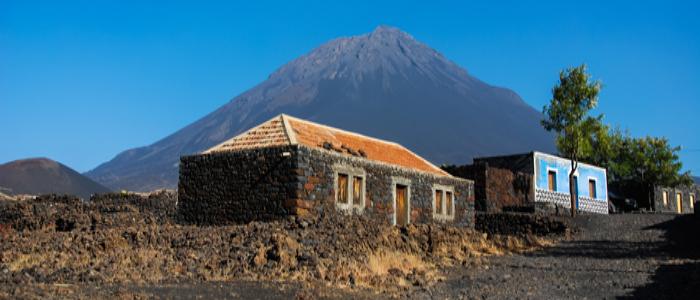 fogo volcanic island