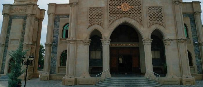 gabala city new mosque