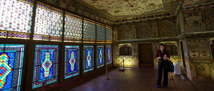 sheki khans palace azerbaijan