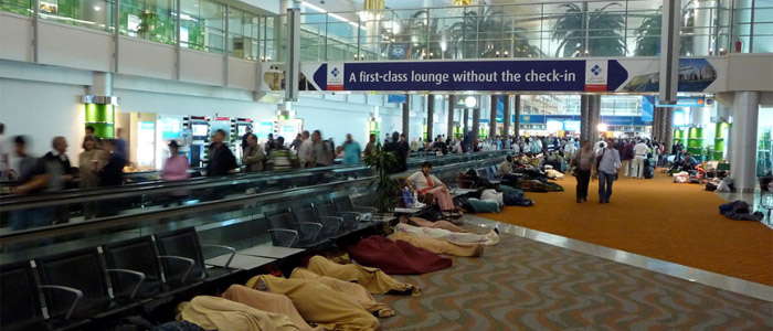 dubai airport things to do while in transit - Lounge