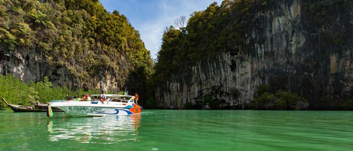 Astonishing Phang Nga Bay.