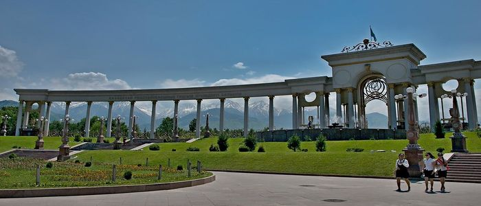 Almaty things to do - First President's Park