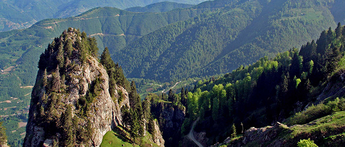 pontic mountains