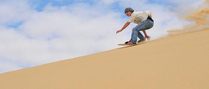 Desert Sand Dunes for Desert and outdoor sports