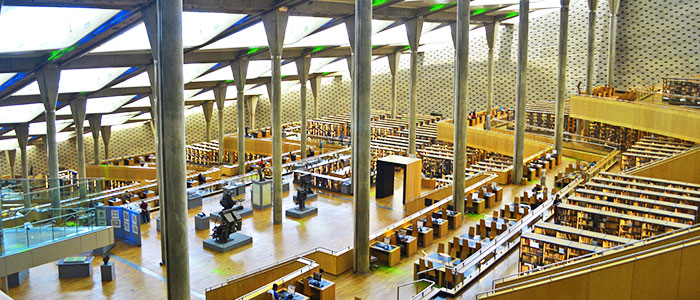 things to do in Egypt- bibliotheca alexandrina
