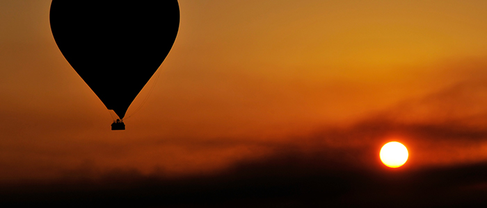 things to do in Egypt- hot air ballooning
