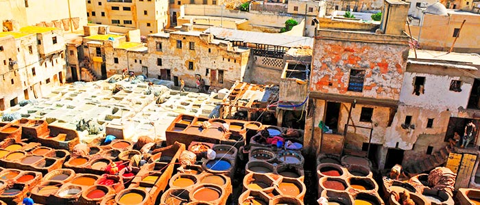 Fes - places to visit in Morocco