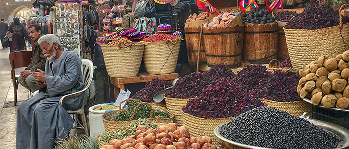 Why visit Egypt- Shop at the Souks