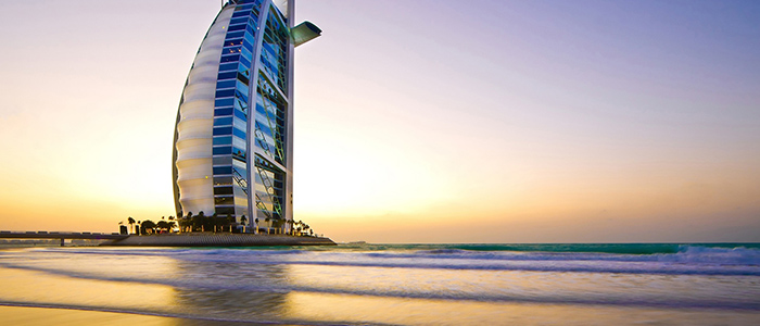 Burj al arab seven start hotel