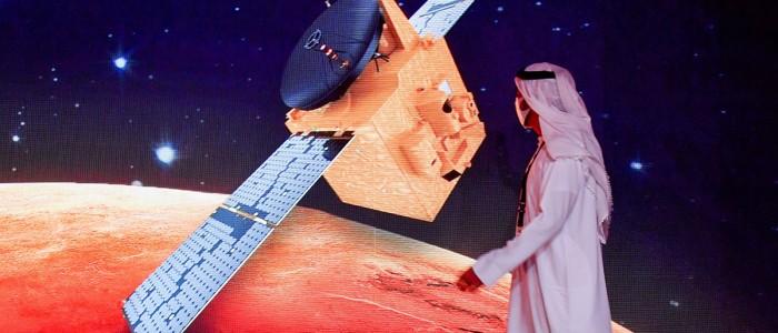the UAE Mission to Mars: Hope Mission 2020