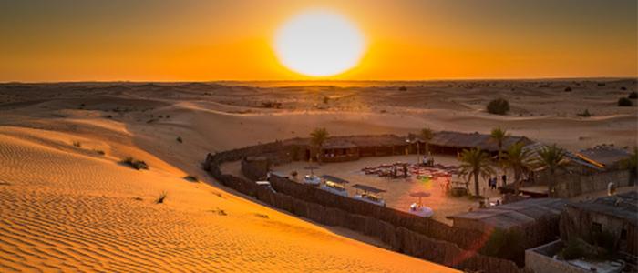 desert camping dubai al qudra desert