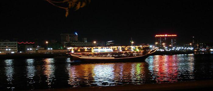 New Year Holiday Dubai : Dhow Cruise