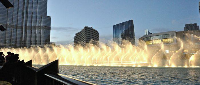 Mind-Blowing & Some Hidden Hangouts In Dubai - Dancing Fountain