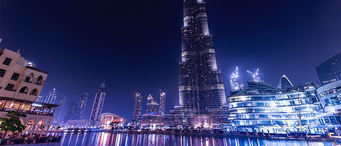 Places To Visit In Dubai At Night - Burj Khaifa