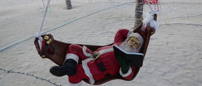 Christmas beach party