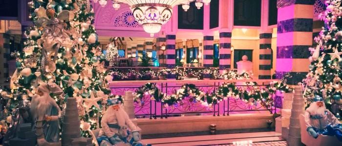 Dubai christmas festive season