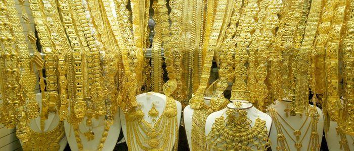 Best Souvenirs In Dubai:  Gold Souks in Dubai
