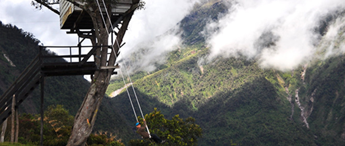 Things To Do In Ecuador - Swing at the end of the World