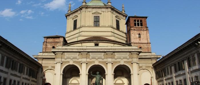 things to do in Milan - Basilica di San Lorenzo