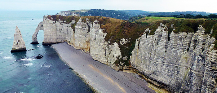 things to do in France - Etretat Beach