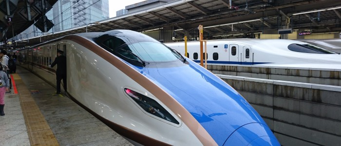 Top Things To Do In Japan - Bullet Train Ride