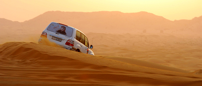 Unusual things to do in Dubai - 4X4 Desert Safari