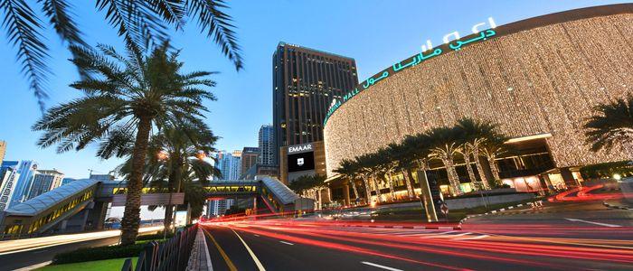 Dubai Hangouts For Retail Therapy - Dubai Marina