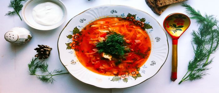 Things to do in Ukraine - BORSCHT AND SALO