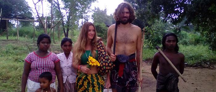Dambana Village Veddas people