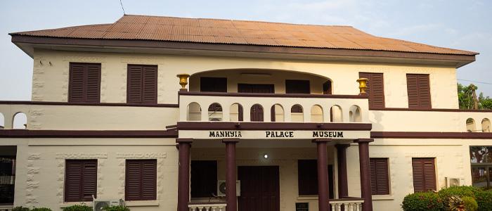 The Manhyia Palace, Ghana