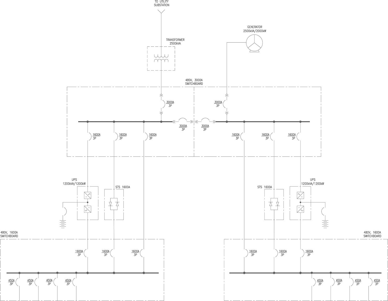 single line diagram of power distribution 2001 gmc sierra 1500 radio wiring electrical system