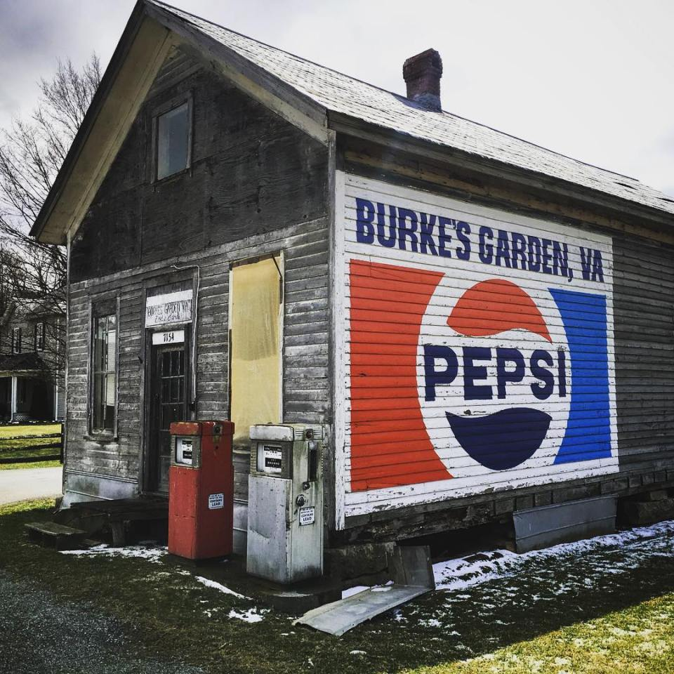 March 19, 2017 Burke's Garden, Tazewell County, Virginia