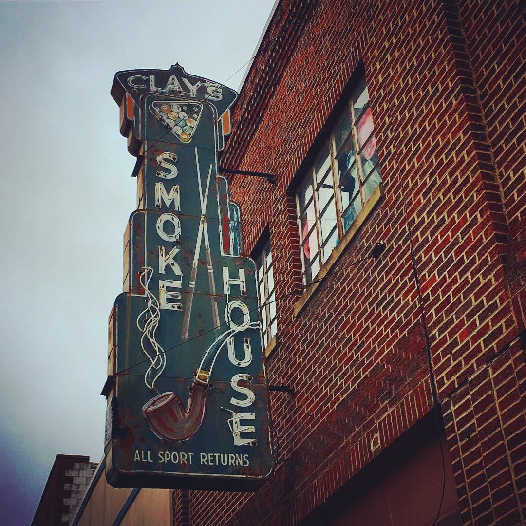 Clay's smokehouse