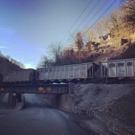 Appalachian coal train