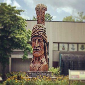 Cherokeeindianstatue
