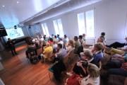 Im Kammermusiksaal der Klaviermanufaktur Steingraeber