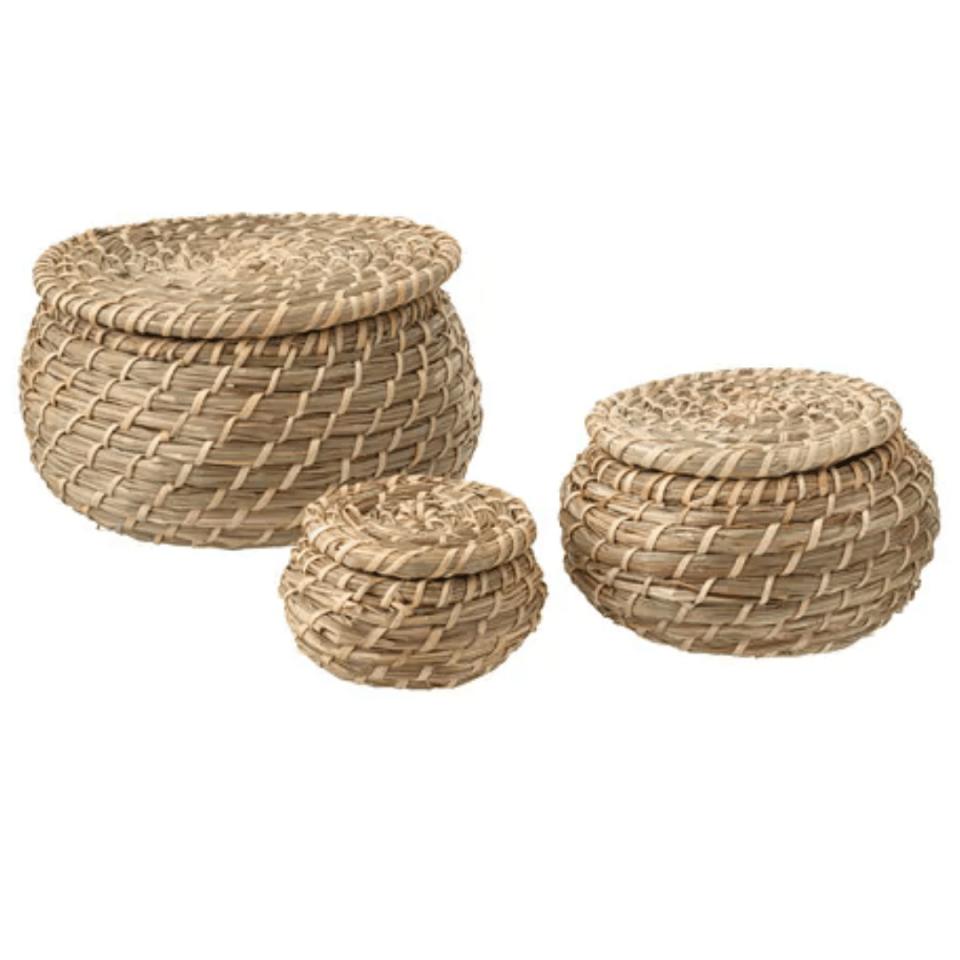 Décoration-boite de rangements avec couvercle-ikea