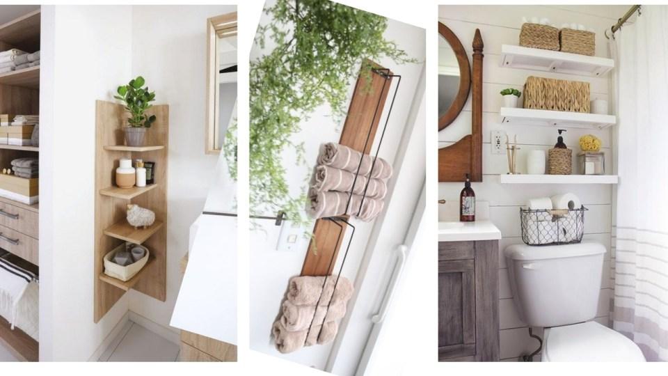 Jeux de décoration, rangement, baignoire