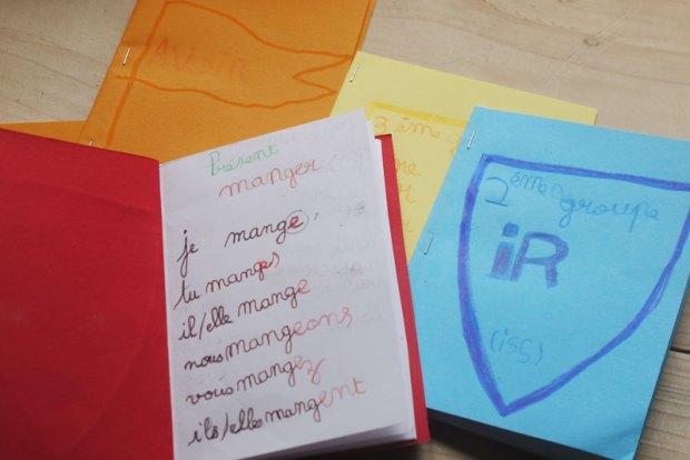 cahiers de conjugaison