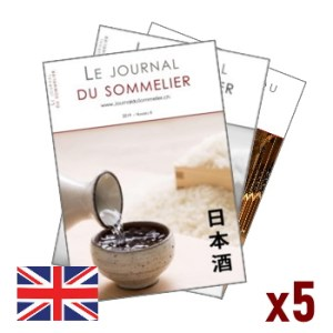 Journal du Sommelier – 5 issues subscription – English version