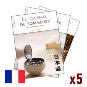 Journal du Sommelier – Abonnement 5 numéros – Edition francophone