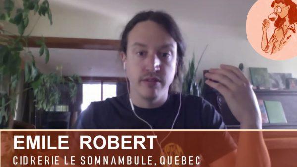 Cidrerie Le Somnambule à Québec, des cidres naturels de gastronomie