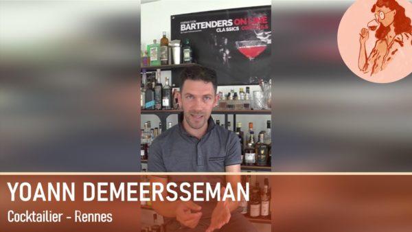 Yoann Demeerssman, créateur de cocktails et amoureux du cidre