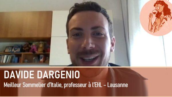 Davide Dargenio, Meilleur Sommelier d'Italie et enseignant à l'EHL