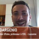 Davide Dargenio, Meilleur Sommelier d'Italie, EHL Lausanne