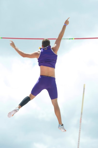 Pole Vault LSU Track & Field Athletes Sports Tigers