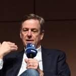 Der Journalist Claus Kleber liest am 11 03 2018 in Köln auf der Lit Cologne dem internationalen Lit