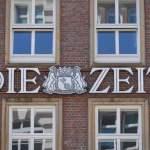 Die Zeit Helmut Schmidt Haus Speersort Hamburg Deutschland *** The time Helmut Schmidt Haus Sp