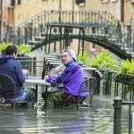 Venice – high water emergency; (Foto ©Sergio Agazzi/Fotogramma, Venice – 2019-11-17) p.s. la foto e utilizzabile nel r