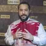 Zurich, Switzerland – December 15, 2019: Swiss Sports Awards at SRF TV Studio with german Show Act Adel Tawil Swiss Spo